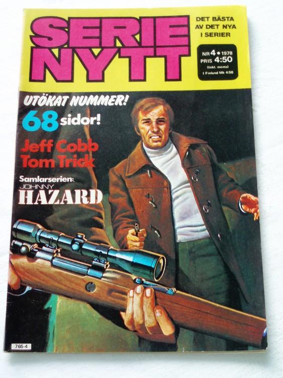 Serie Nytt nr 4 1978 mycket bra skick, ny oläst