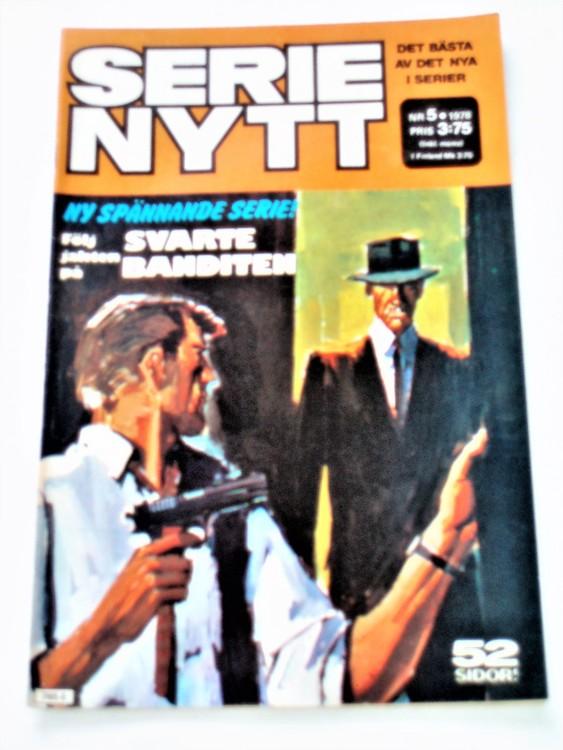 Serie Nytt nr 5 1978 mycket bra skick, ny oläst