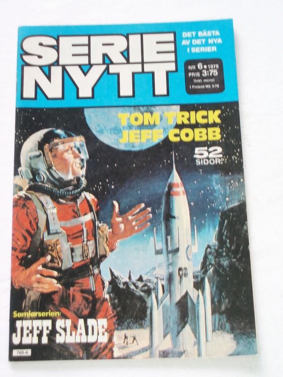 Serie Nytt nr 6 1978 mycket bra skick, ny oläst
