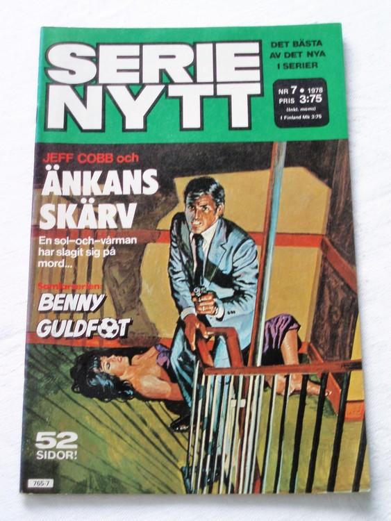 Serie Nytt nr 7 1978 mycket bra skick, ny oläst