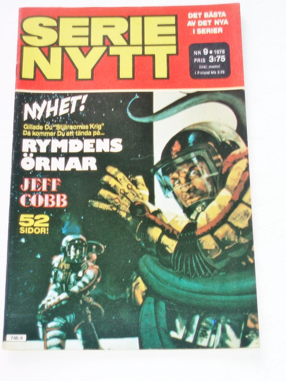Serie Nytt nr 9 1978 mycket bra skick, ny oläst