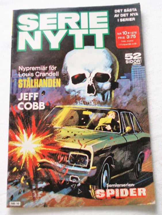 Serie Nytt nr 10 1978 mycket bra skick, ny oläst