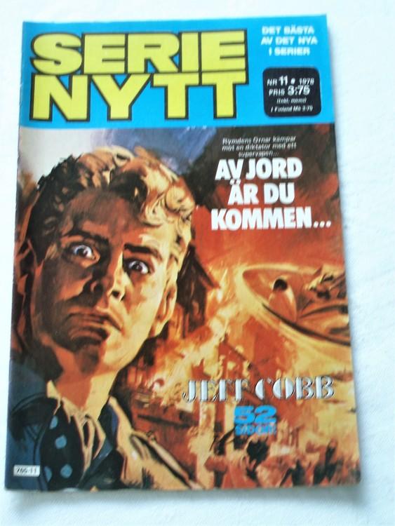 Serie Nytt nr 11 1978 mycket bra skick, ny oläst