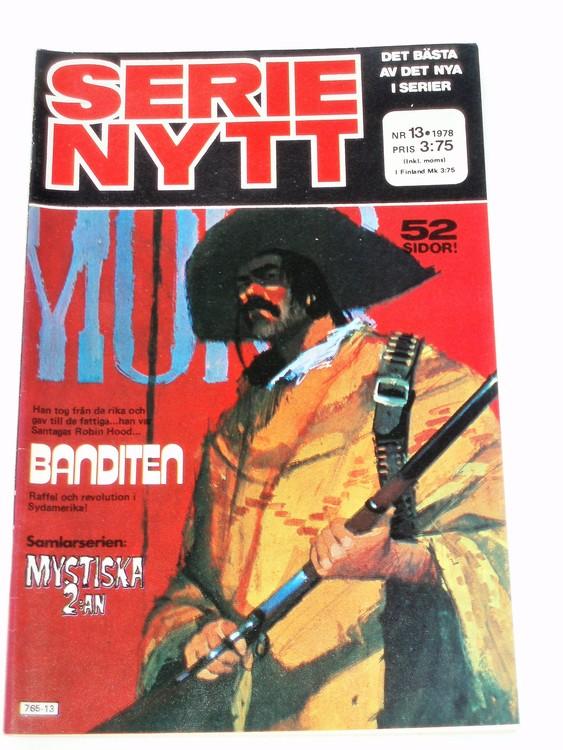 Serie Nytt nr 13 1978 mycket bra skick, ny oläst