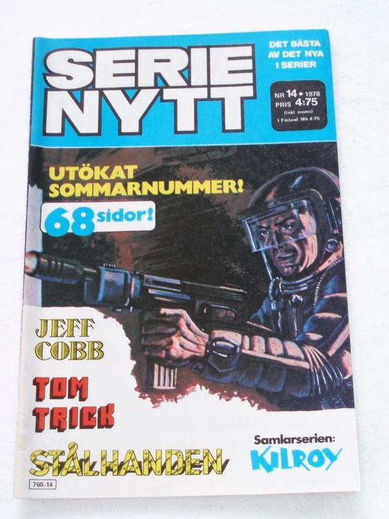 Serie Nytt nr 14 1978 mycket bra skick, ny oläst