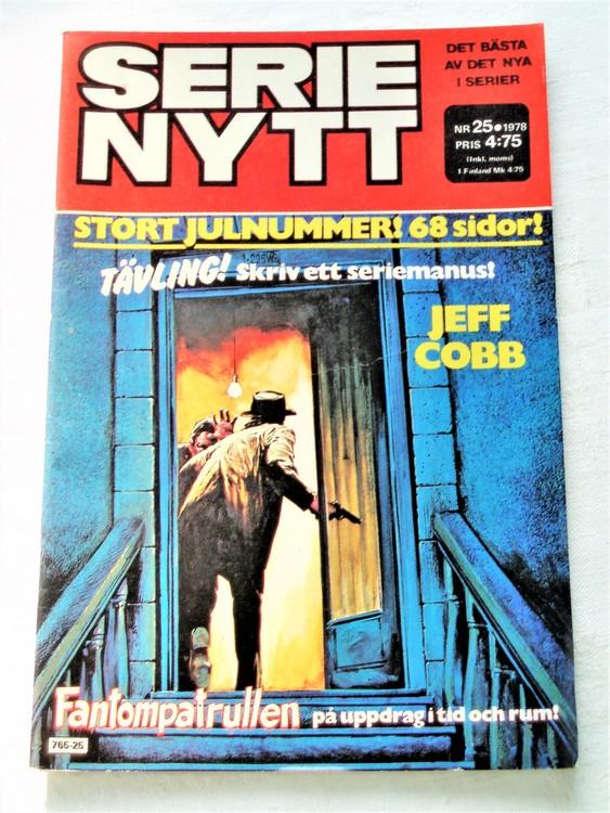 Serie Nytt nr 25 1978 mycket bra skick, ny oläst