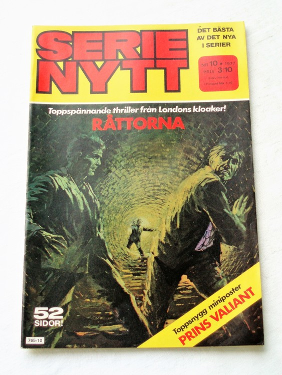 Serie Nytt nr 10 1977 mycket bra skick, ny oläst