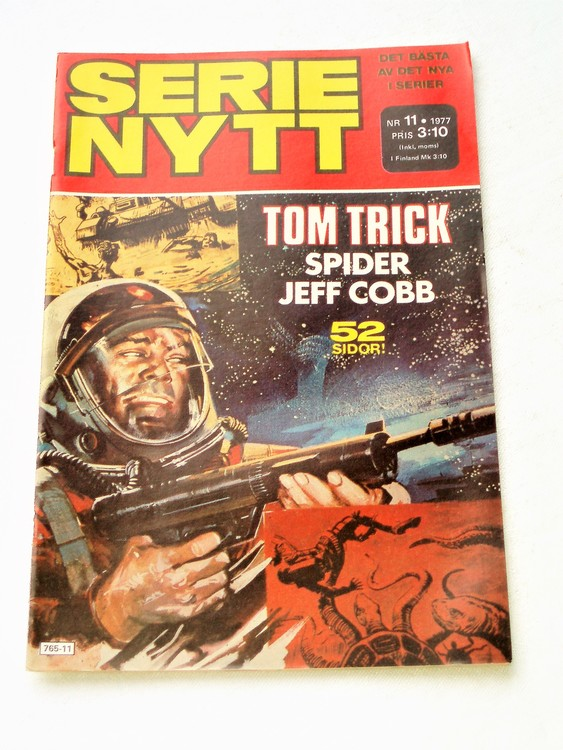 Serie Nytt nr 11 1977 mycket bra skick, ny oläst