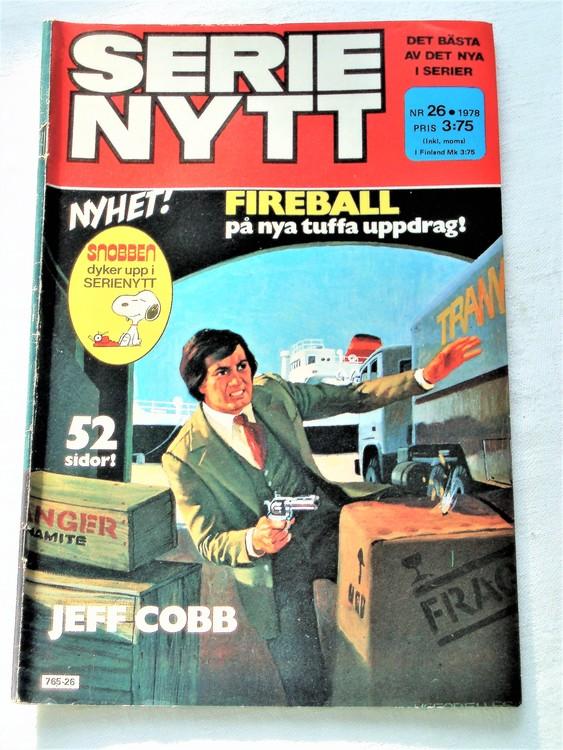 Serie Nytt nr 26 1978 mycket bra skick, ny oläst