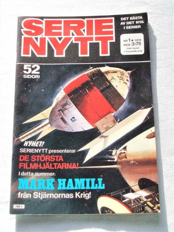 Serie Nytt nr 1 1979, 52 sidor, mycket bra skick, ny oläst