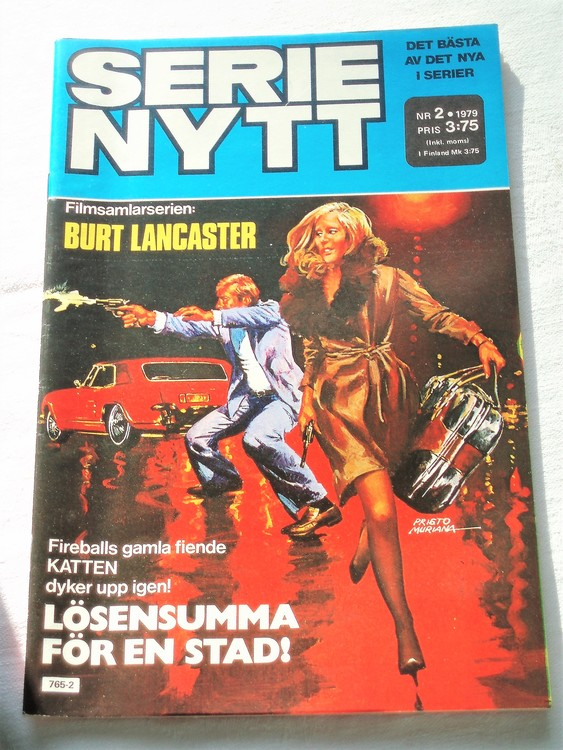Serie Nytt nr 2 1979 mycket bra skick, ny oläst
