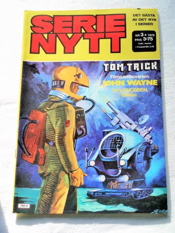 Serie Nytt nr 3 1979 mycket bra skick, ny oläst