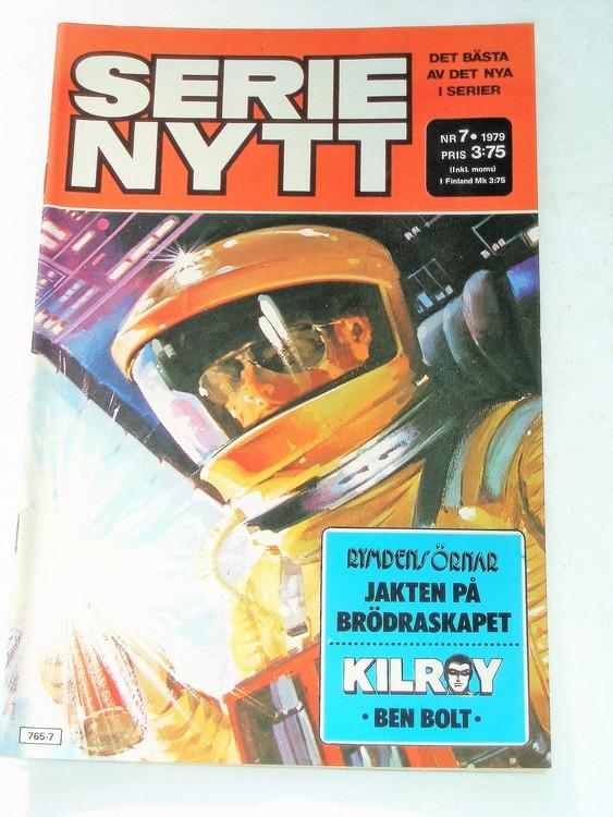 Serie Nytt nr 7 1979 mycket bra skick, ny oläst