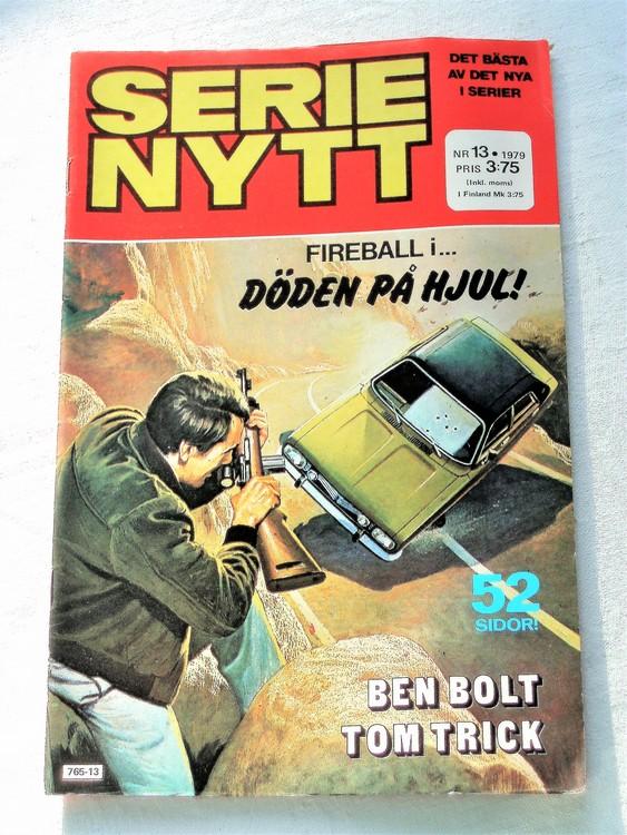 Serie Nytt nr 13 1979 mycket bra skick, ny oläst