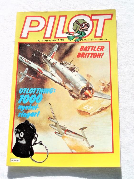 Pilot nr 11 1978 mycket bra skick ny oläst.