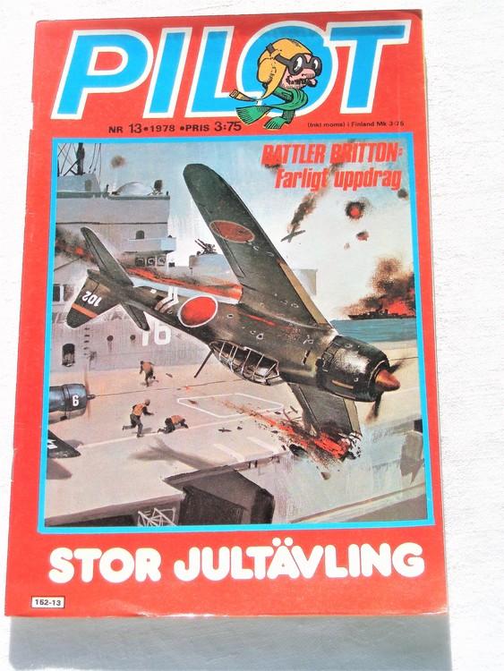 Pilot nr 13 1978 mycket bra skick ny oläst.