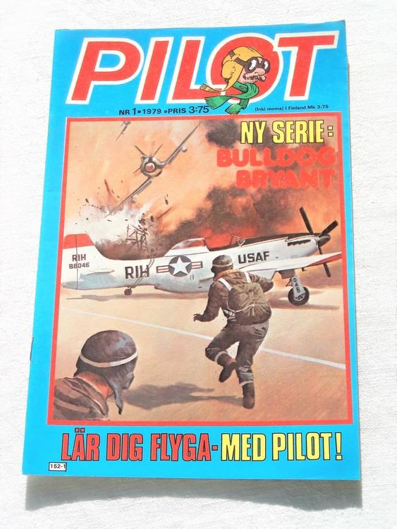 Pilot nr 1 1979 mycket bra skick ny oläst.