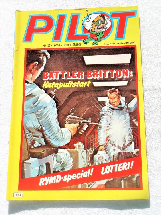 Pilot nr 2 1979 mycket bra skick ny oläst.