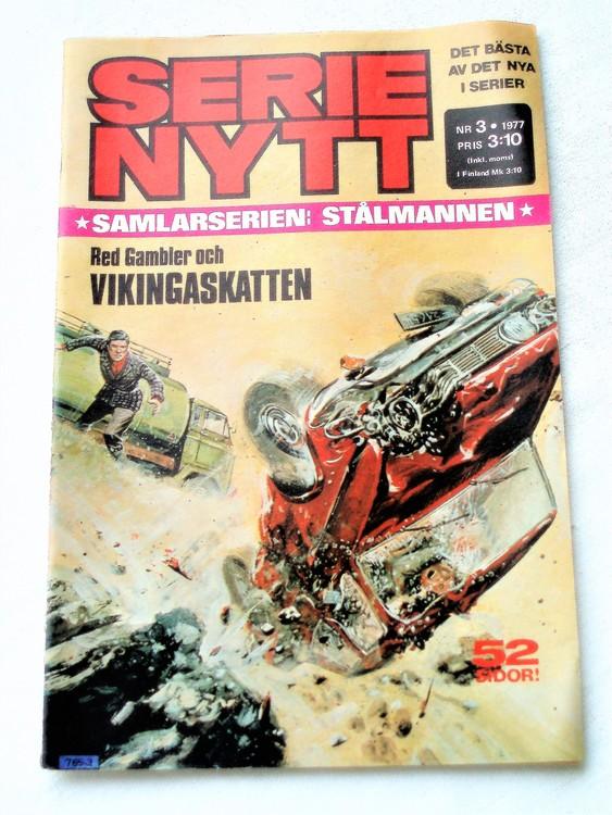 Serie Nytt nr 3 1977 mycket bra skick, ny oläst