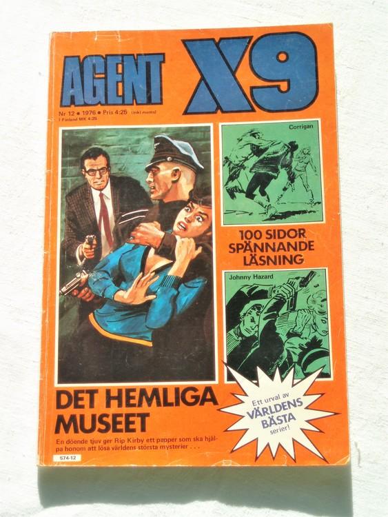 Agent X9 nr 12 1976 normalskick, normalslitet