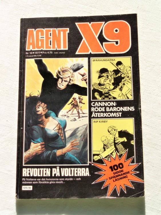 Agent X9 nr 10 1977 bra skick