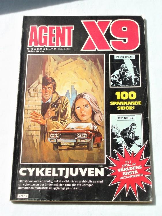 Agent X9 nr 12 1980 normalskick, normalslitet