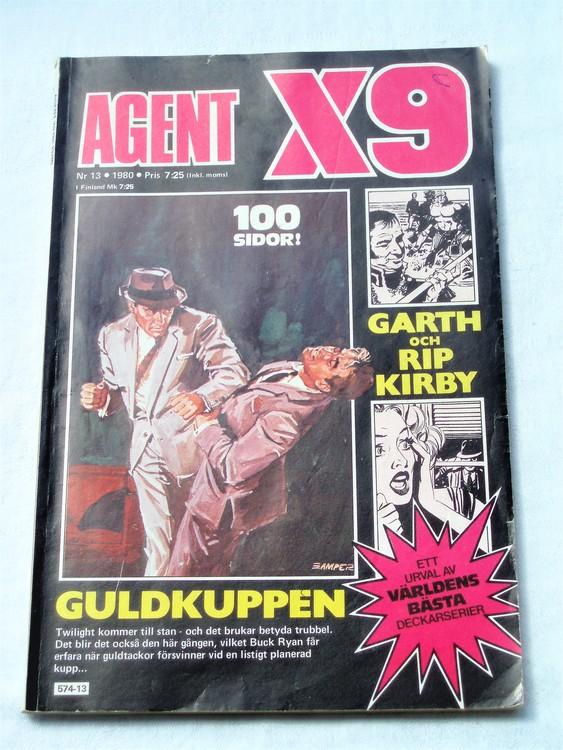 Agent X9 nr 13 1980 normalskick, normalslitet