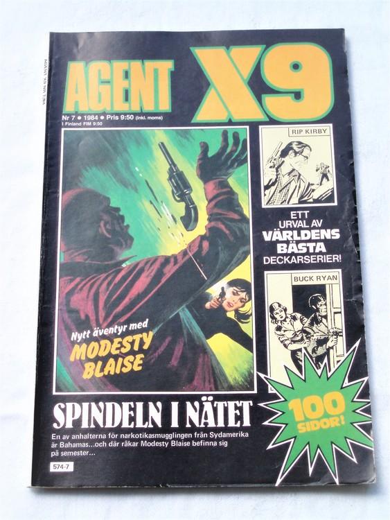 Agent X9 nr 7 1984 normalskick, normalslitet