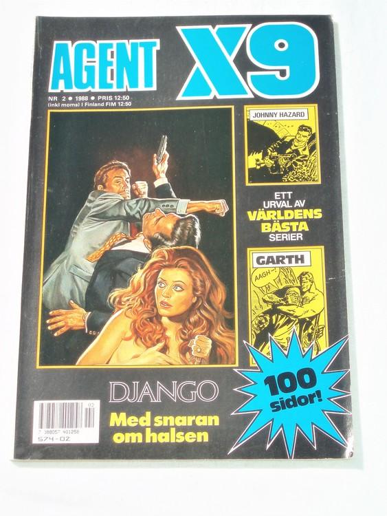 Agent X9 nr 2 1988 bra skick semic
