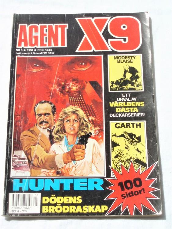 Agent X9 nr 5 1988 normalskick, normalslitet