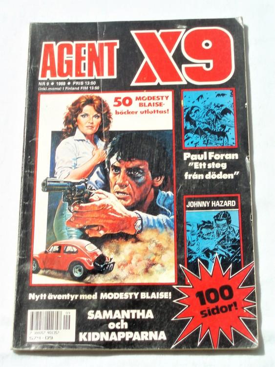 Agent X9 nr 9 1988 normalskick, normalslitet