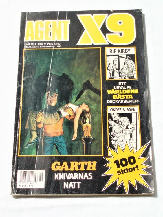 Agent X9 nr 10 1988 normalskick, normalslitet