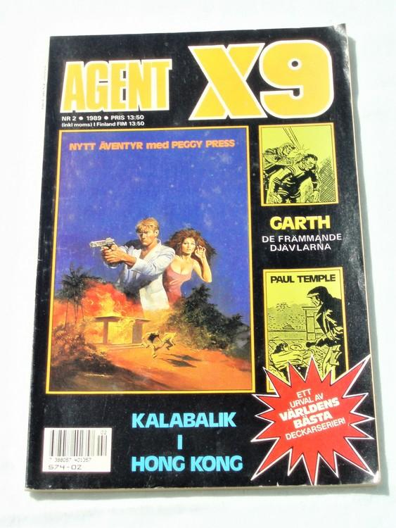 Agent X9 nr 2 1989 normalskick, normalslitet