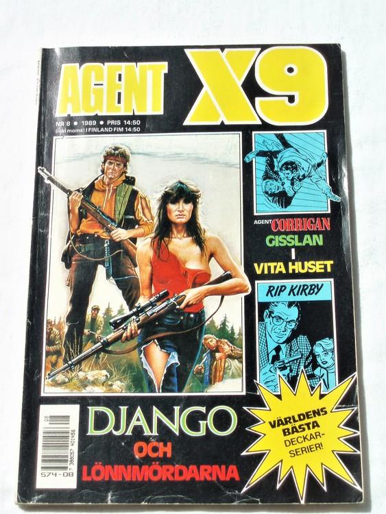 Agent X9 nr 8 1989 normalskick, normalslitet