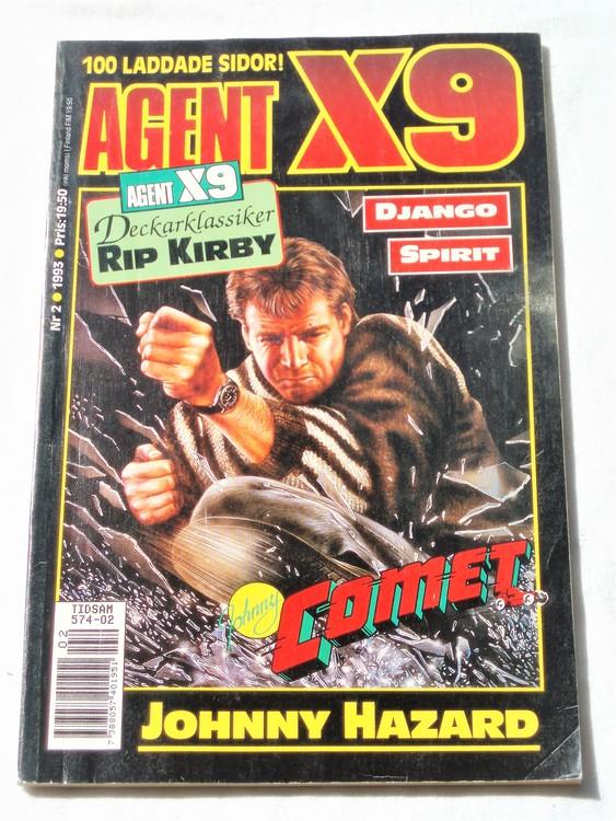 Agent X9 nr 2 1993 normalskick, normalslitet