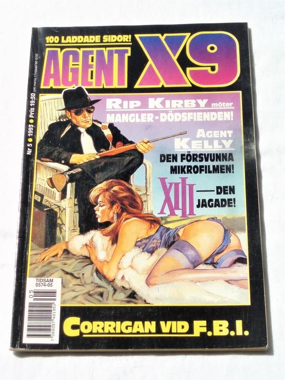 Agent X9 nr 5 1993 normalskick, normalslitet