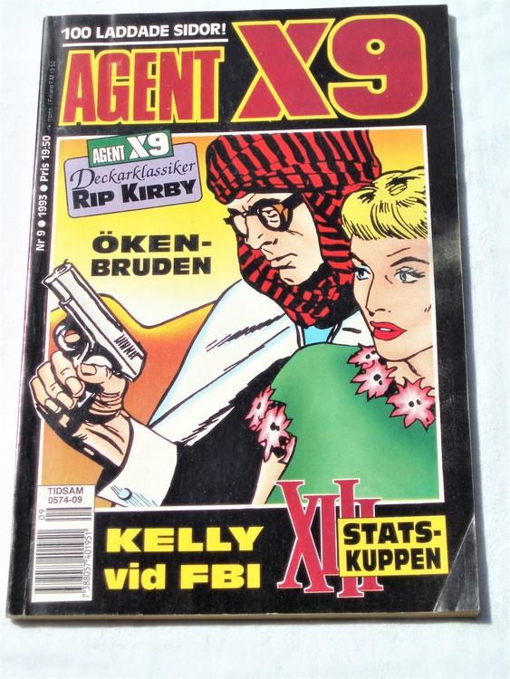 Agent X9 nr 9 1993 normalskick, normalslitet
