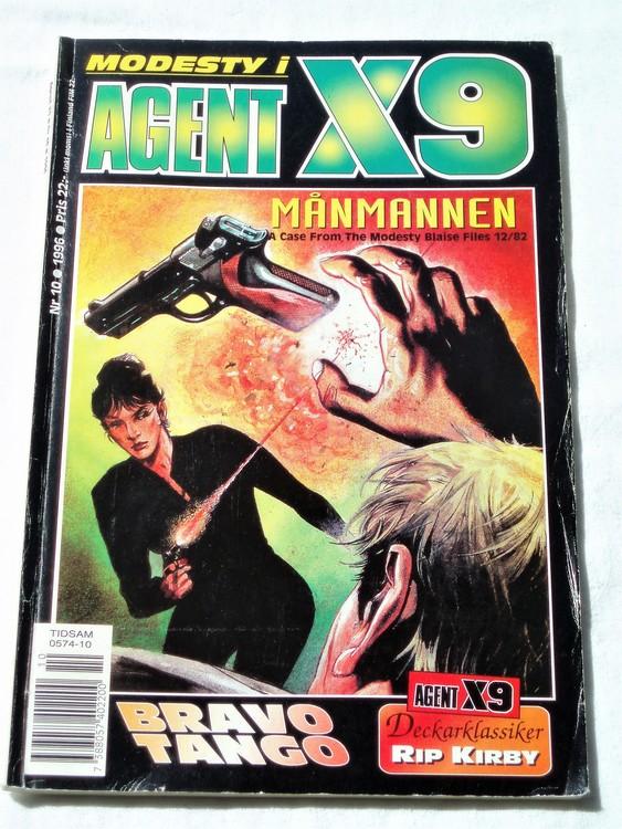 Agent X9 nr 10 1996 normalskick, normalslitet