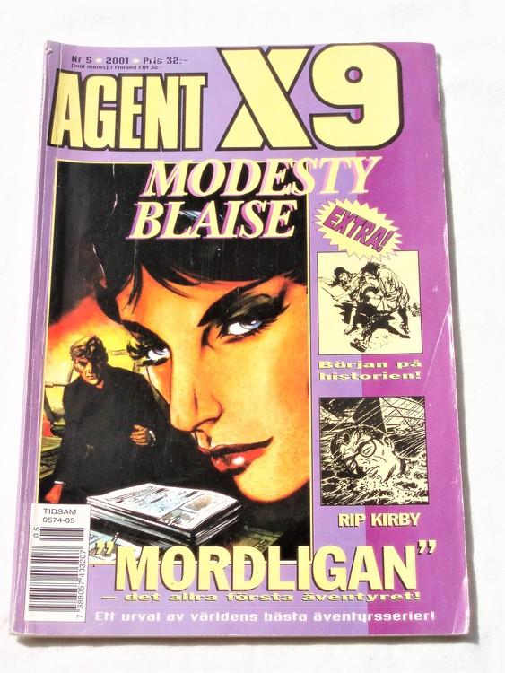 Agent X9 nr 5 2001 normalskick, normalslitet