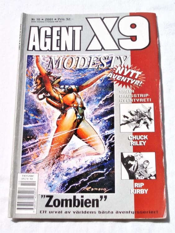 Agent X9 nr 10 2001 normalskick, normalslitet