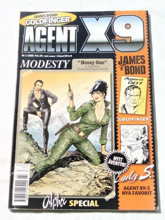 Agent X9 nr 3 2008 normalskick, normalslitet