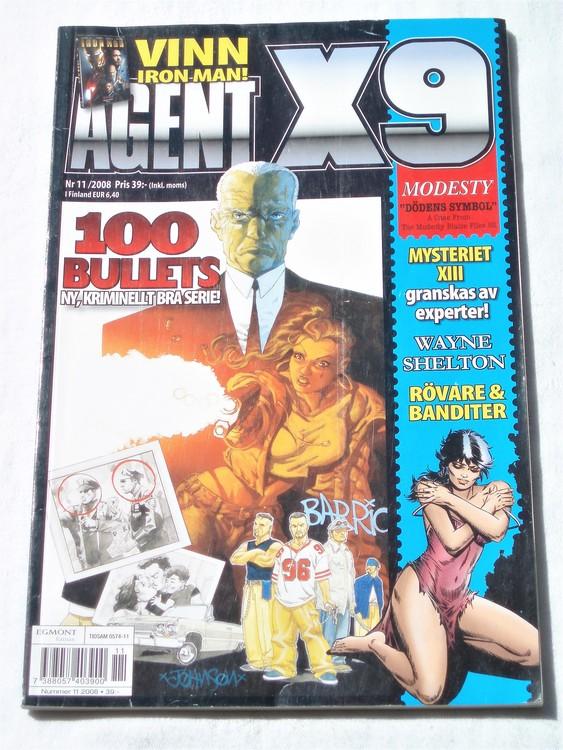 Agent X9 nr 11 2008 normalskick, normalslitet