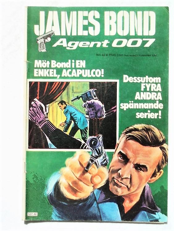 James Bond nr46 1977 normalslitet normalskick
