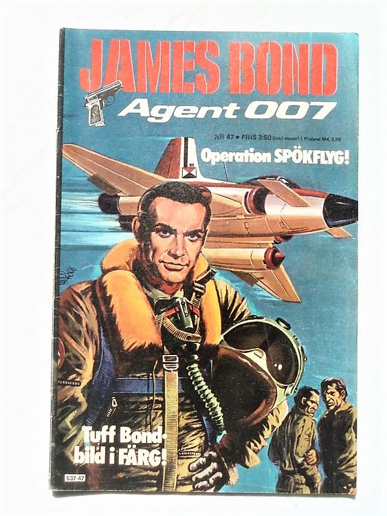 James Bond nr 47 1977 normalslitet normalskick