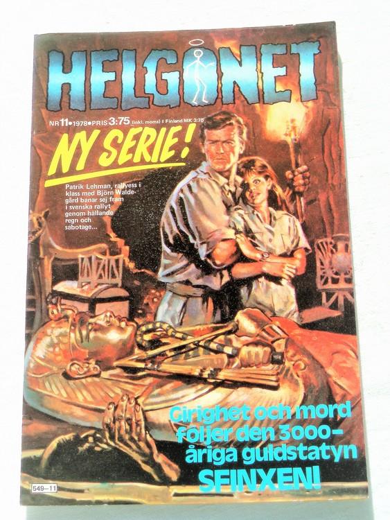 "Helgonet ""Sfinxen""nr11 1978 mycket bra skick,nyskick"