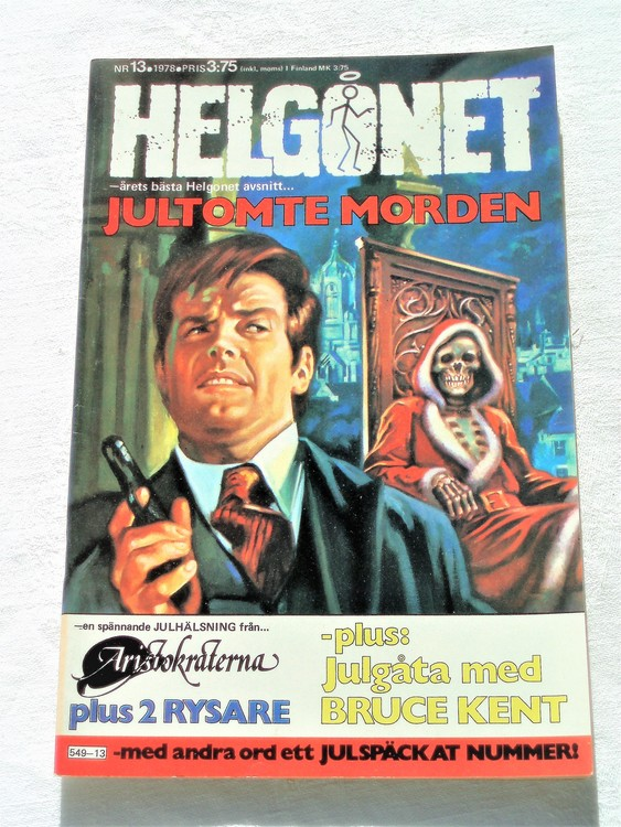 "Helgonet ""Jultomte Morden""nr13 1978 mycket bra skick,"