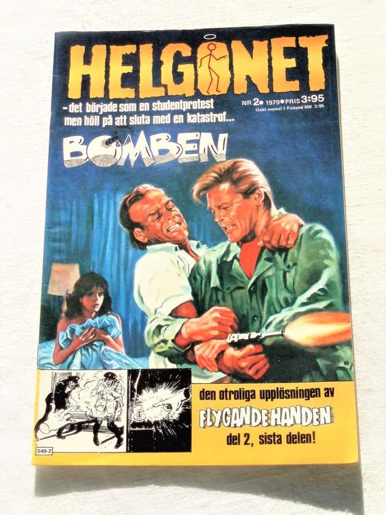 """Helgonet """"Bomben""""nr2 1979 mycket bra skick,nyskick"""