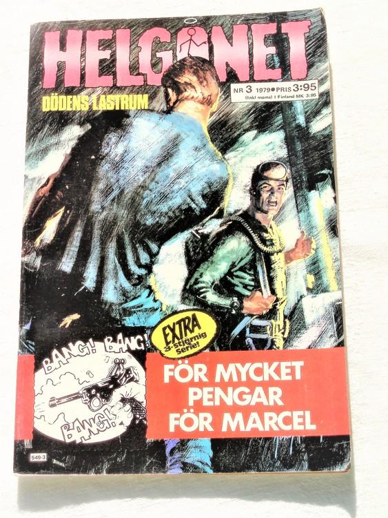 """Helgonet """"Dödens Lastrum""""nr3 1979 mycket bra skick,"""