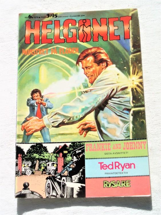 "Helgonet ""Monstret på floden""nr6 1979 mycket bra skick,"