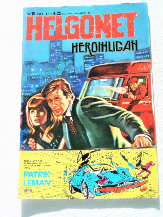 "Helgonet ""Heroinligan""nr10 1979 mycket bra skick,"